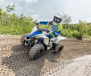 Yamaha YFZ50 : un quad pour les enfants de 6 à 9 ans